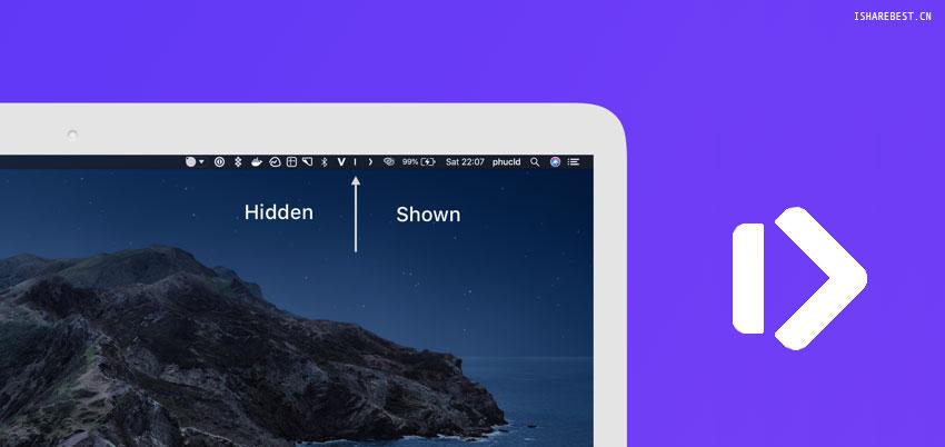 让 Mac 拥有和 Window 一样的隐藏菜单栏图标功能——Hidden bar